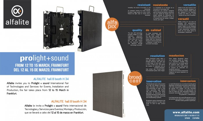 prolight+sound 2014 Frankfurt