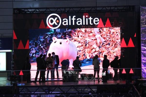 Stand de Alfalite en la feria Afial 2014, Madrid