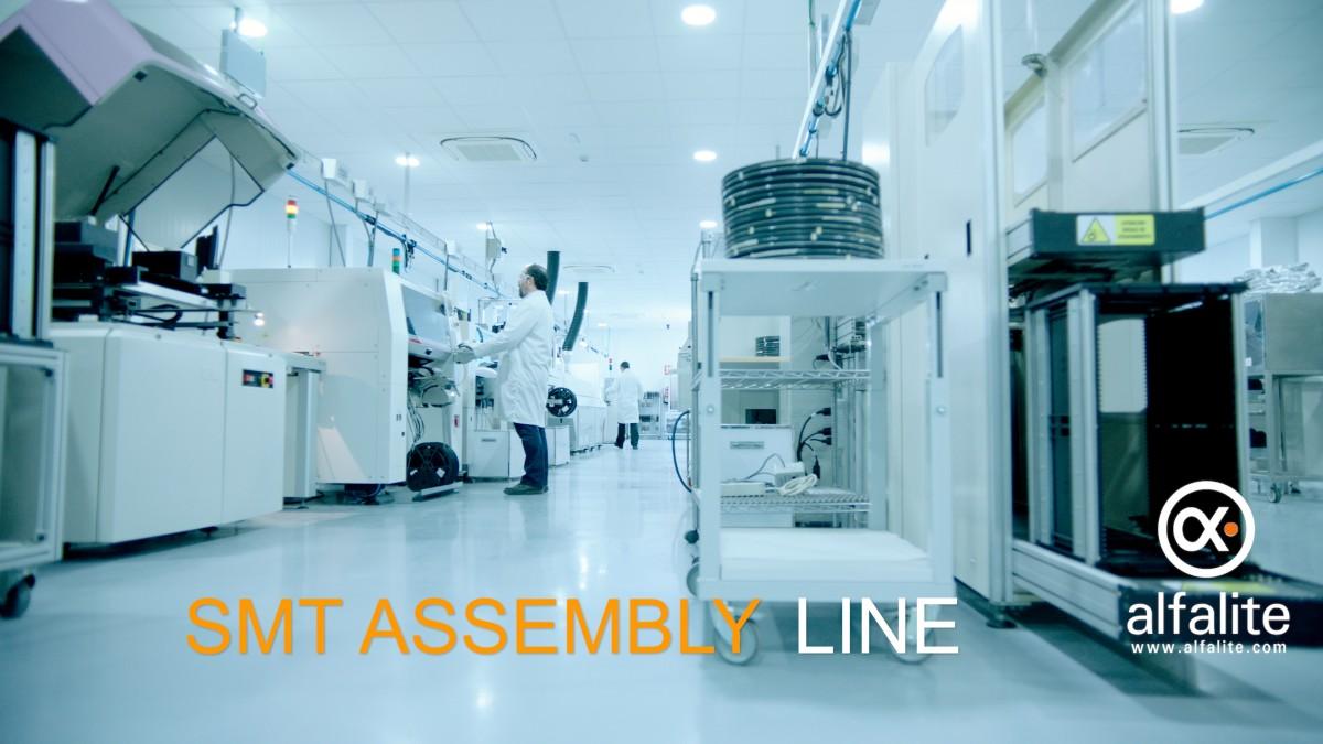 SMT ASSEMBLY LINE 1